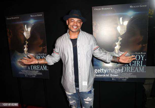 Actor Anthony Hemingway attends the premiere of Samuel Goldwyn Films' 'A Boy A Girl A Dream' at the ArcLight Hollywood on September 11 2018 in...