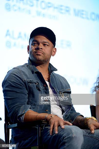 Actor Anthony Hemingway speaks onstage at WGN America's Underground For Your Consideration Emmy Event on April 17 2016 in Beverly Hills California