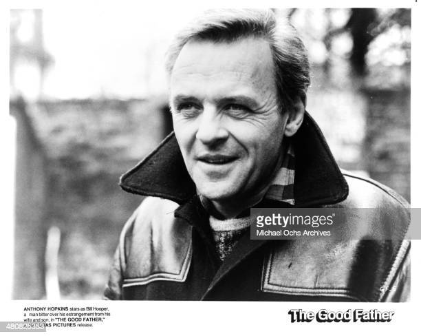 Actor Anthony Hopkins in a scene from the movie 'The Good Father' circa 1985