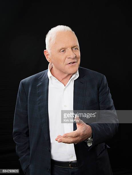 Actor Anthony Hopkins is photographed for Los Angeles Times on May 18 2016 in Los Angeles California PUBLISHED IMAGE CREDIT MUST READ Kirk McKoy/Los...