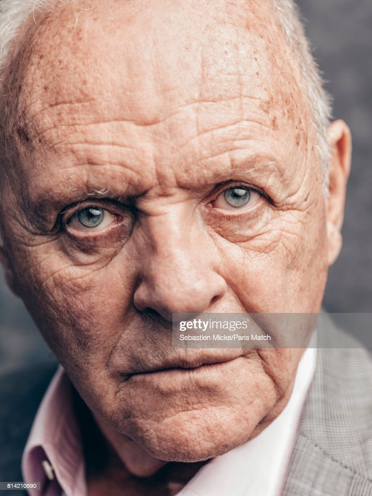 Actor Anthony Hopkins is photographed for Paris Match on ...