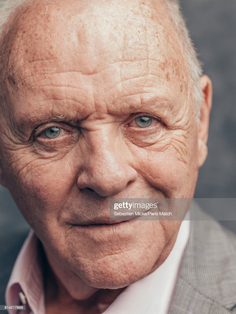 Anthony Hopkins, Paris Match Issue 3554, July 5, 2017