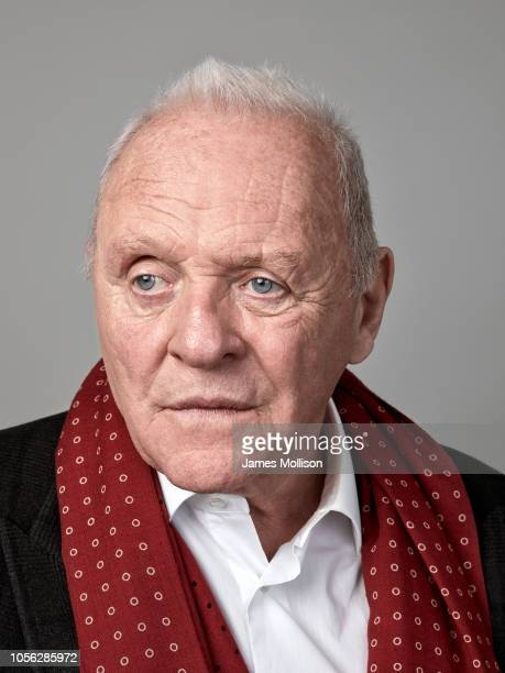 Actor Anthony Hopkins is photographed for the Guardian on May 7 2018 in Rome Italy