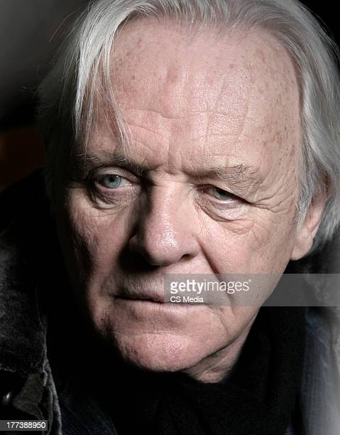 Actor Anthony Hopkins is photographed on January 17, 2007 in Park City, Illinois.