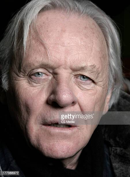 Actor Anthony Hopkins is photographed on January 17 2007 in Park City Illinois