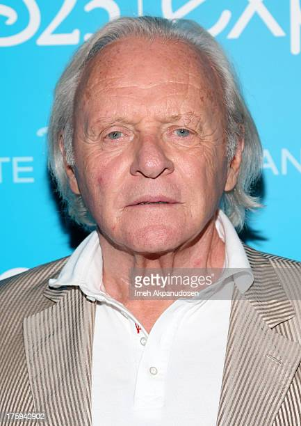 Actor Anthony Hopkins of 'Thor The Dark World' attends 'Let the Adventures Begin Live Action at The Walt Disney Studios' presentation at Disney's D23...