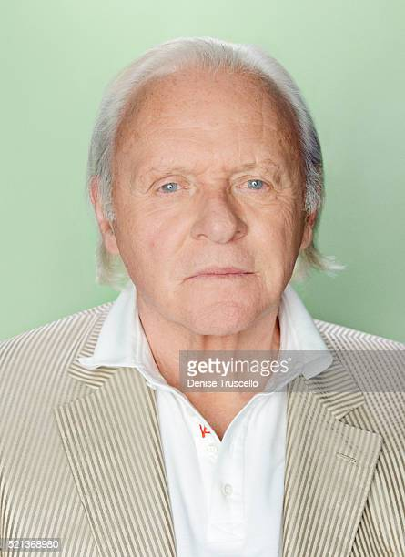 Actor Anthony Hopkins poses for a portrait at the 2013 D23 Expo on August 6 2013 in Las Vegas Nevada