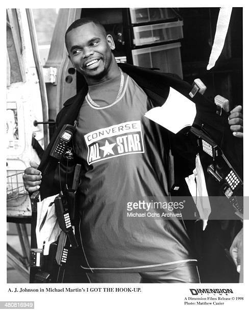 """Actor Anthony Johnson in a scene from the movie """"I Got the Hook Up """" , circa 1998."""