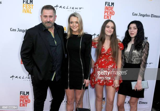 Actor Anthony LaPaglia Alexandra Hankel Bridget LaPaglia and guest attend the 2017 Los Angeles Film Festival Premiere of Warner Brothers Pictures'...