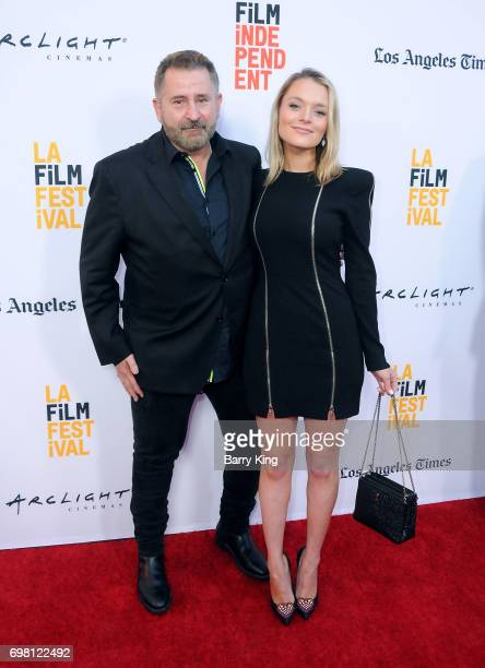 Actor Anthony LaPaglia and Alexandra Hankel attend the 2017 Los Angeles Film Festival Premiere of Warner Brothers Pictures' 'Annabelle Creation' at...