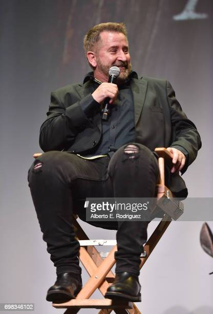 Actor Anthony LaPaglia attends the premiere of Warner Bros Pictures' 'Annabelle Creation during the 2017 Los Angeles Film Festival at The Theatre at...