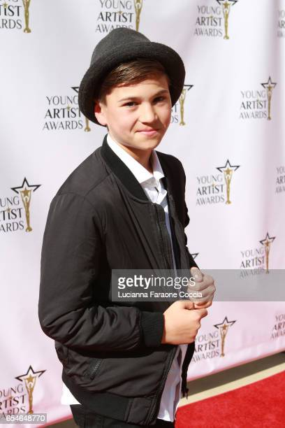 Actor Anthony LaPenna attends the 38th Annual Young Artists Awards at Alex Theatre on March 17 2017 in Glendale California