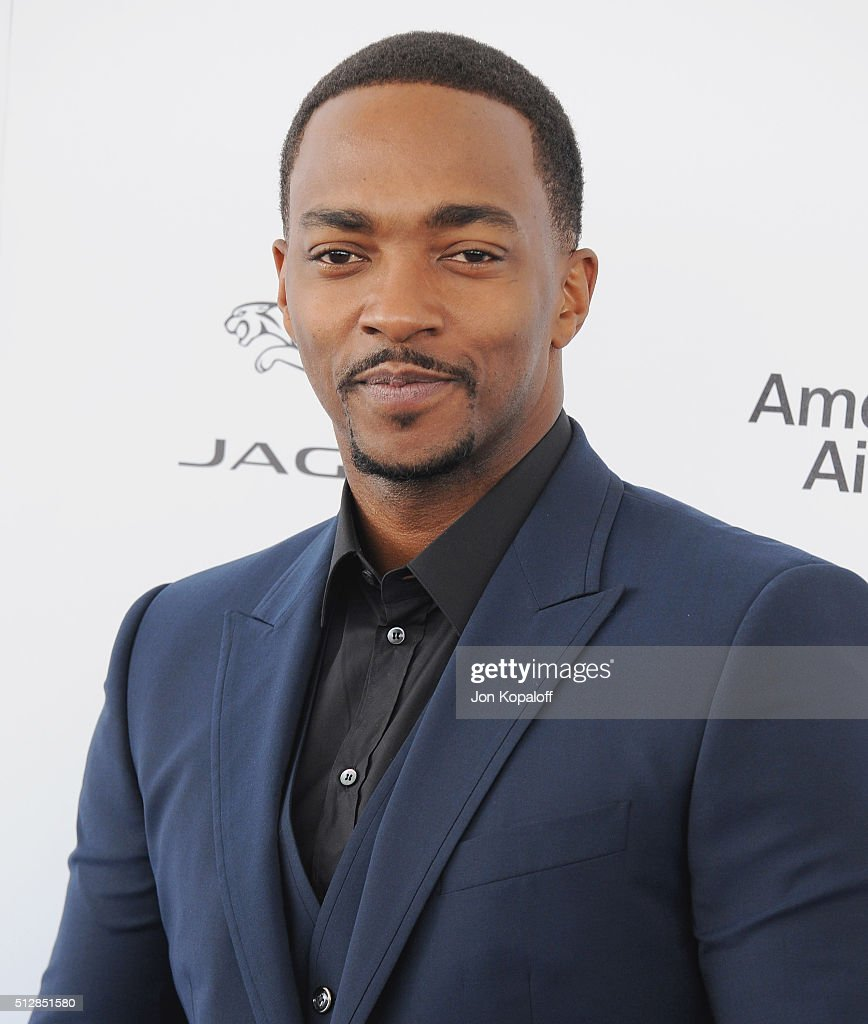 Actor Anthony Mackie arrives at the 2016 Film Independent Spirit Awards on February 27, 2016 in Los Angeles, California.