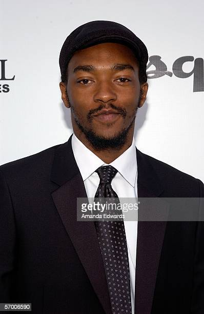 Actor Anthony Mackie arrives at The Envelope Please APLA/Esquire Magazine Oscar Party held at the Abbey on March 5, 2006 in Beverly Hills, California.
