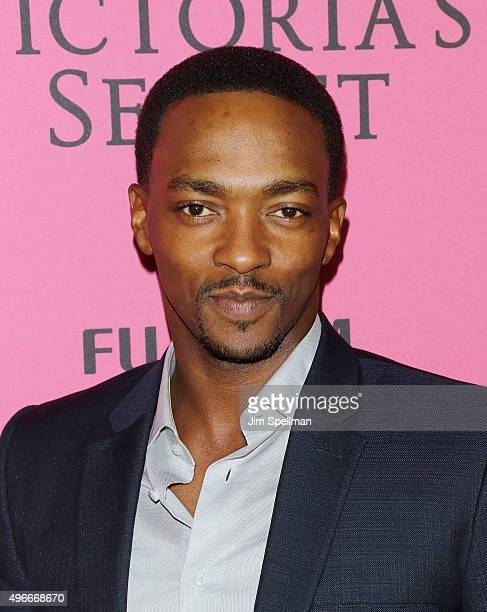 Actor Anthony Mackie attends the 2015 Victoria's Secret Fashion Show after party at TAO Downtown on November 10 2015 in New York City