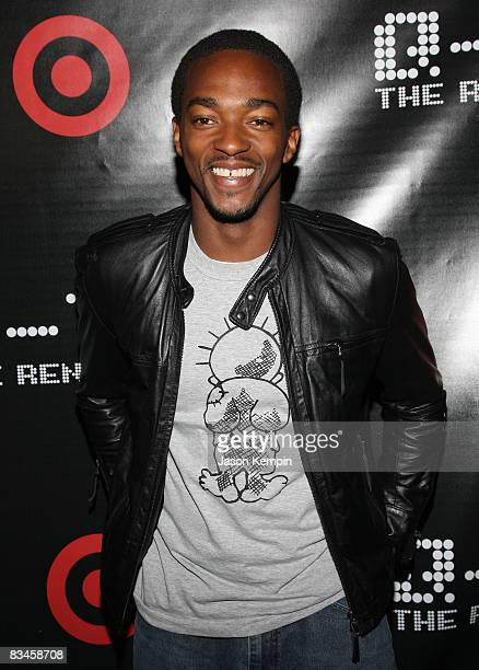Actor Anthony Mackie attends the album release party for QTip's The Renaissance hosted by Target at the Bowery Hotel on October 27 2008 in New York...