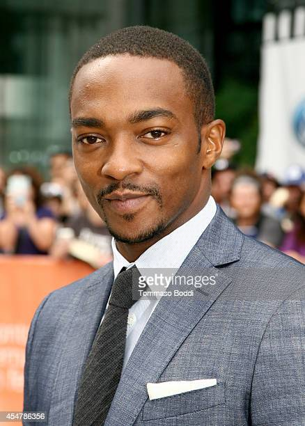 Actor Anthony Mackie attends the 'Black And White' premiere during the 2014 Toronto International Film Festival at Roy Thomson Hall on September 6...