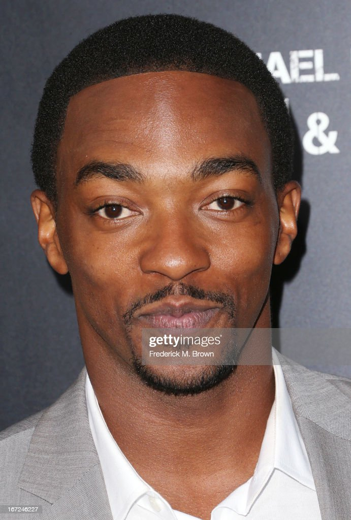 Actor Anthony Mackie attends the premiere of Paramount Pictures' 'Pain & Gain' at the TCL Chinese Theatre on April 22, 2013 in Hollywood, California.