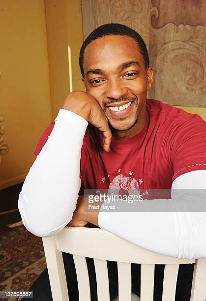 Actor Anthony Mackie attends the SAGIndie Actors Only brunch during the 2012 Sundance Film Festival held at Cafe Terigo on January 22 2012 in Park...