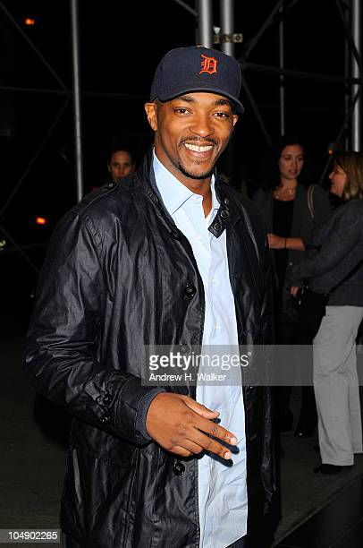 """Actor Anthony Mackie attends the screening of """"Fair Game"""" hosted by Giorgio Armani & The Cinema Society at The Museum of Modern Art on October 6,..."""