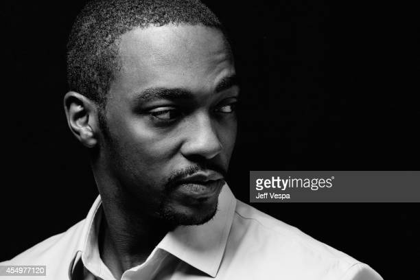 Actor Anthony Mackie is photographed for a Portrait Session at the 2014 Toronto Film Festival on September 7 2014 in Toronto Ontario