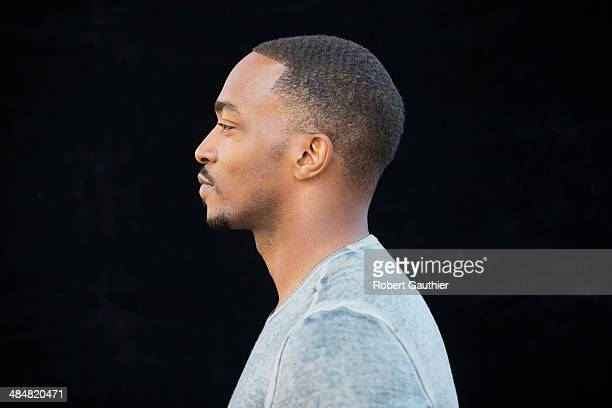 Actor Anthony Mackie is photographed for Los Angeles Times on April 1 2014 in Burbank California PUBLISHED IMAGE CREDIT MUST READ Robert Gauthier/Los...