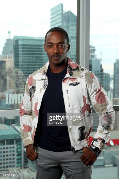 Actor Anthony Mackie of 'Seberg' attends The IMDb Studio Presented By Intuit QuickBooks at Toronto 2019 at Bisha Hotel Residences on September 07...
