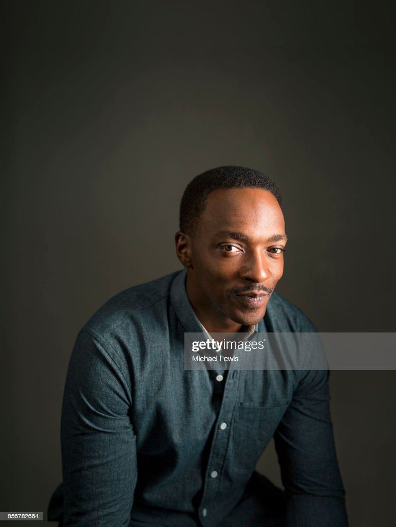 Actor Anthony Mackie photographed for Variety on October 26, 2015, in Los Angeles, California.