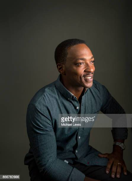 Actor Anthony Mackie photographed for Variety on October 26 in Los Angeles California