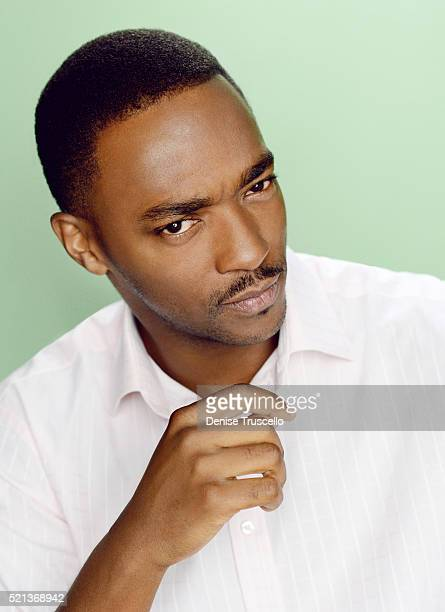 Actor Anthony Mackie poses for a portrait at the 2013 D23 Expo on August 6, 2013 in Las Vegas, Nevada.