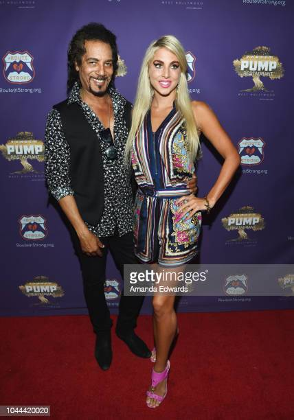 Actor Anthony McKay and Renee Adrianne attend the 1st annniversary fundraiser for the victims of the October 1st 2017 Las Vegas Shooting hosted by...