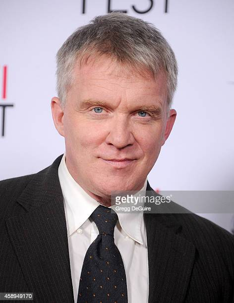 Actor Anthony Michael Hall arrives at the AFI FEST 2014 Presented By Audi Closing Night Gala Premiere of 'Foxcatcher' at Dolby Theatre on November 13...
