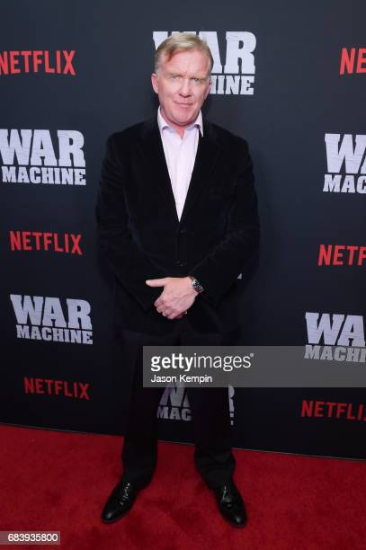 Actor Anthony Michael Hall attends a special screening of the Netflix original film War Machine at The Metrograph on May 16 2017 in New York City