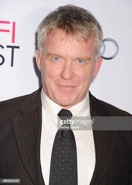 Actor Anthony Michael Hall attends the premiere of Sony Pictures Classics' 'Foxcatcher' during AFI FEST 2014 presented by Audi at Dolby Theatre on...