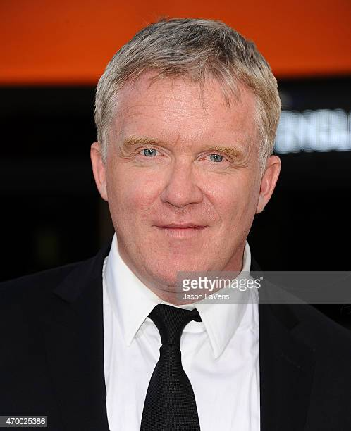 Actor Anthony Michael Hall attends the premiere of The Water Diviner at TCL Chinese Theatre IMAX on April 16 2015 in Hollywood California