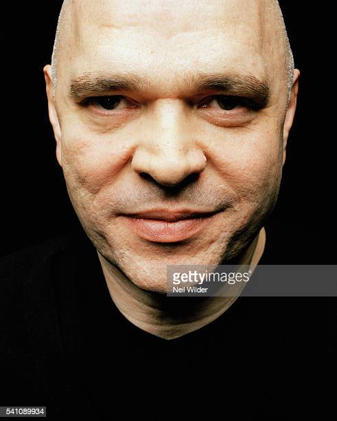 Actor Anthony Minghella poses for Newsweek International in January 2004 in Los Angeles CA