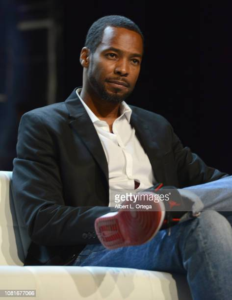 Actor Anthony Montgomery attends Day 4 of Creation Entertainment's 2018 Star Trek Convention Las Vegas at the Rio Hotel Casino on August 5 2018 in...