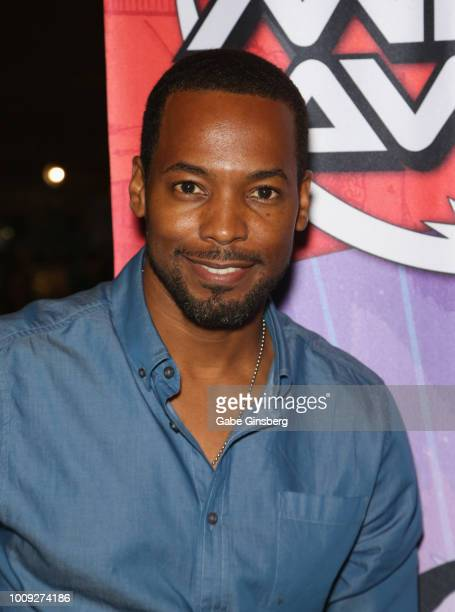Actor Anthony Montgomery attends the 17th annual official Star Trek convention at the Rio Hotel Casino on August 1 2018 in Las Vegas Nevada