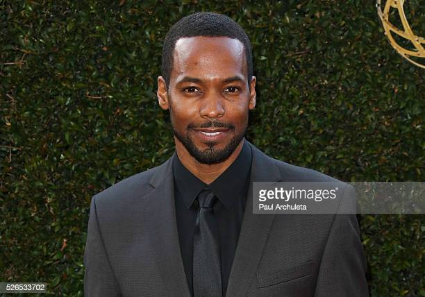 Actor Anthony Montgomery attends the 2016 Daytime Creative Arts Emmy Awards at The Westin Bonaventure Hotel on April 29 2016 in Los Angeles California