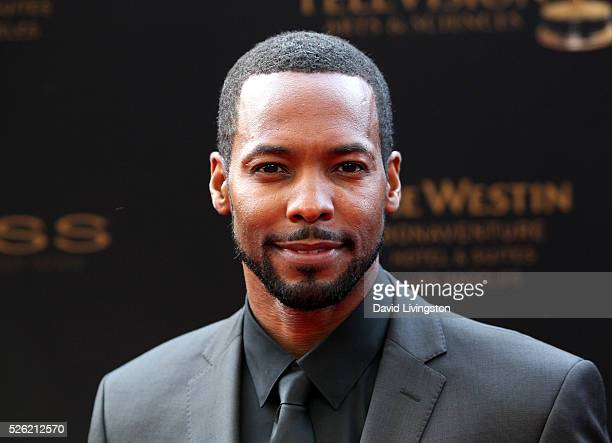 Actor Anthony Montgomery attends the 43rd Annual Daytime Creative Arts Emmy Awards at Westin Bonaventure Hotel on April 29 2016 in Los Angeles...