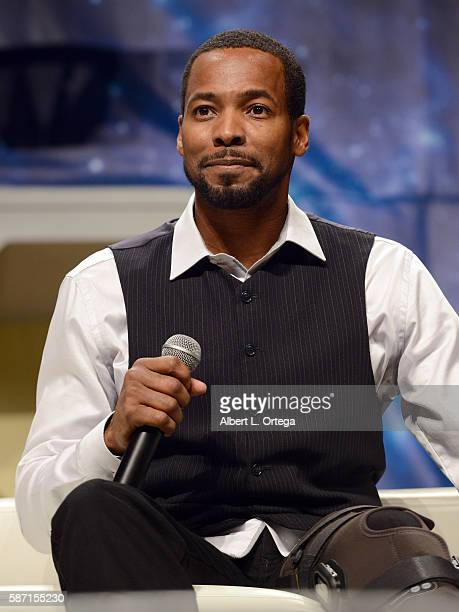 Actor Anthony Montgomery on day 5 of Creation Entertainment's Official Star Trek 50th Anniversary Convention at the Rio Hotel Casino on August 7 2016...