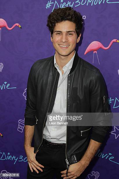 Actor Anthony Padilla attends Premiere Of Lionsgate's Dirty 30 Arrivals at ArcLight Hollywood on September 20 2016 in Hollywood California