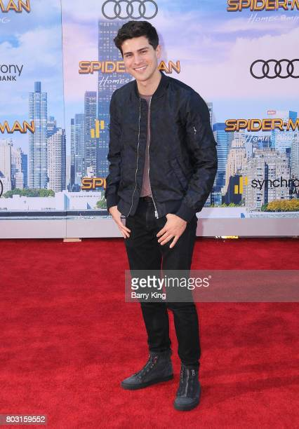 Actor Anthony Padilla attends the World Premiere of Columbia Pictures' 'SpiderMan Homecoming' at TCL Chinese Theatre on June 28 2017 in Hollywood...