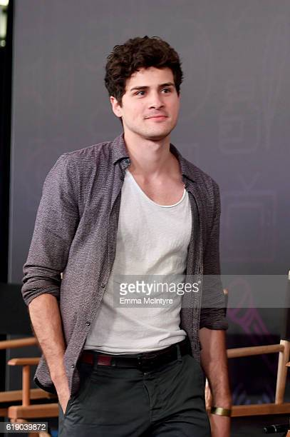 Actor Anthony Padilla walks onstage at Entertainment Weekly's PopFest at The Reef on October 29 2016 in Los Angeles California