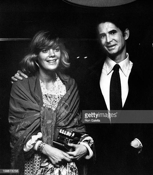 Actor Anthony Perkins and Berry Berenson attend Lorna Luft Performance on October 4, 1973 at the St. Regis Hotel in New York City.