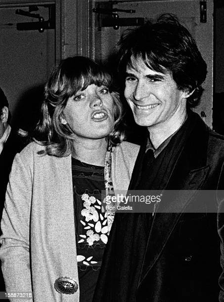 Actor Anthony Perkins and Berry Berenson attend the gala benefit for the Alvin Alley City Center Dance Theater on November 29, 1973 in New York City.