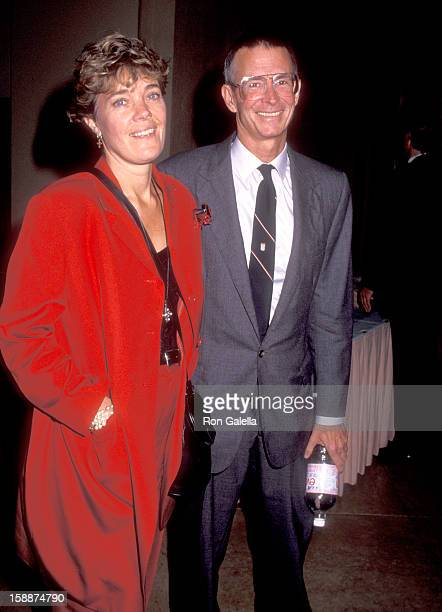 Actor Anthony Perkins and wife Berry Berenson attend The American Cinema Foundation's Annual Summer Gala Fundraiser on September 14 1991 at Beverly...
