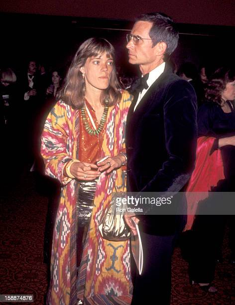 Actor Anthony Perkins and wife Berry Berenson attend the Fifth Annual American Film Institute Lifetime Achievement Award Salute to Bette Davis on...