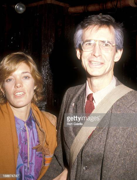 Actor Anthony Perkins and wife Berry Berenson attend the 'Romantic Comedy' Opening Night Performance on November 8 1979 at the Ethel Barrymore...