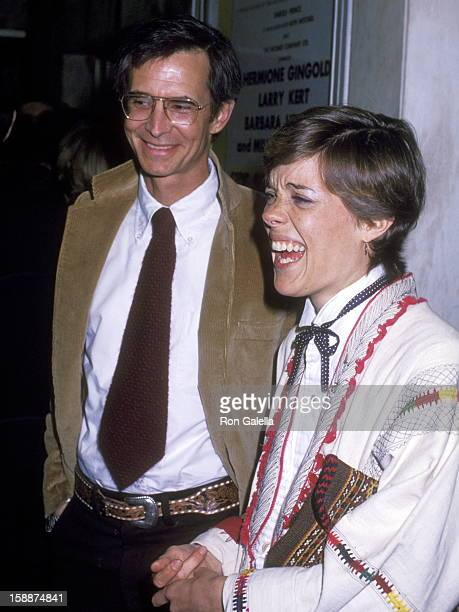 Actor Anthony Perkins and wife Berry Berenson attend the 'Side by Side' Opening Night Performance on April 7 1978 at Huntington Hartford Theatre in...
